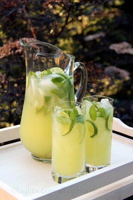 Limonade, citron jaune ou vert à la vodka