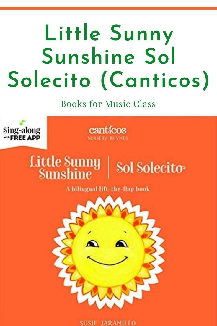 Solecito : solecito, Little, Sunny, Sunshine, Solecito, (Canticos), Nursery, Rhymes, Collection,, Rhymes,, Bilingual, English