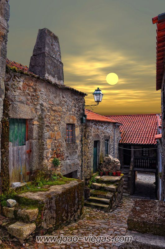 Monsanto, an ancient village in Portugal.