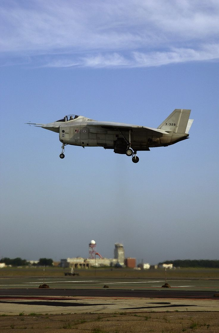Boeing X-32 STOVL (Short Take-Off and Vertical Landing)