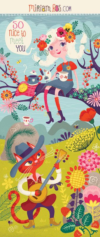 Surtex + subscribe to my Newsletter | Miriam Bos – illustration & Surface Pattern design