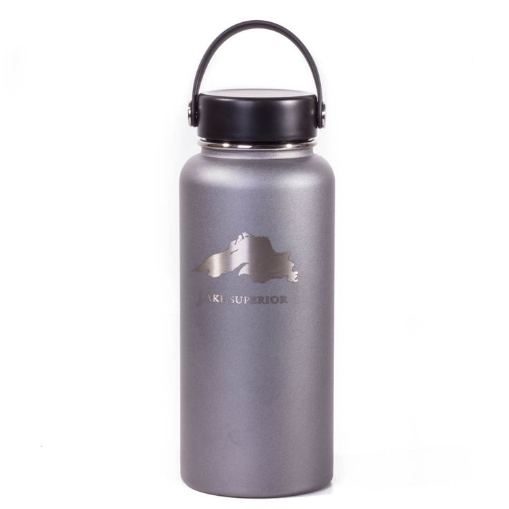 Hydro Flask Lake Superior 32 Ounce Wide Mouth Flex Cap