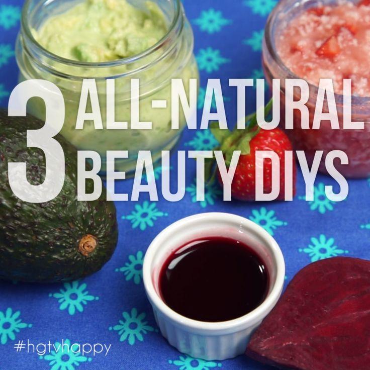 La Vie Diy Diy All Natural Detoxifying Mask: 3 All-Natural Beauty DIYs