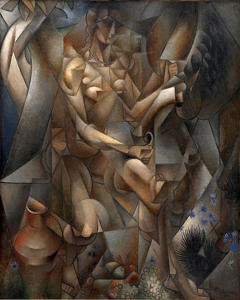 La Femme au Cheval, 1912, Jean Metzinger: 1911 1912, Except, Woman, Women, Art, Staten Museums, Au Cheval, National Galleries, Jeans Metzinger