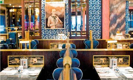 Bob Bob Ricard, London  c/o the guardian: Bare Café, Diners Deluxeseri, Bobs Bobs, Bobs Ricard, London Lady, London C O', Suits Jackets, Bobs Richard, London Diners