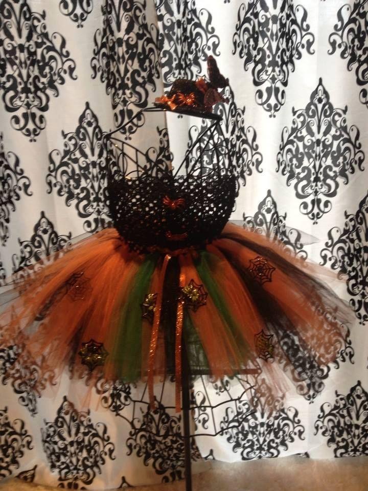 Halloween tutu dress i made for a precious little girl :)