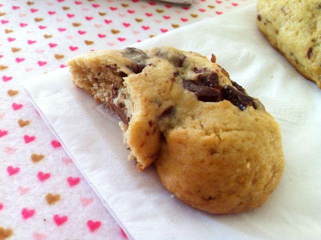 Cookies de Coração do Subway