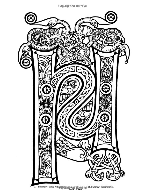 Celtic Design Coloring Book Dover Ed Sibbett Jr