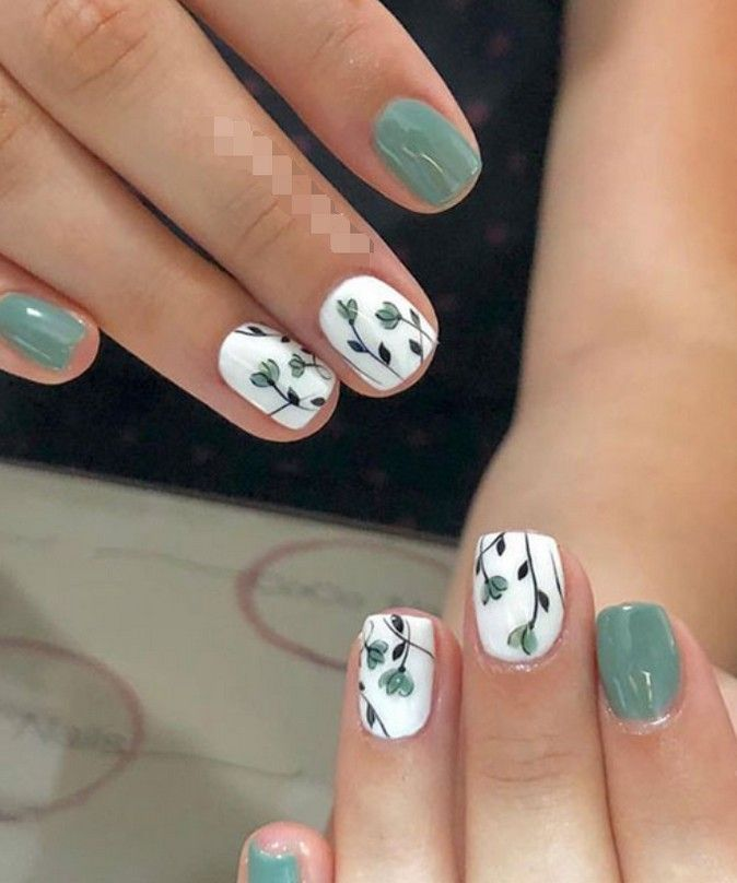 54 Most Lovely And Stunning Floral Nails Inspirational Art You For Prom And Wedding - Page 16 of 54 - Marble Kim Design