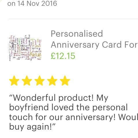 Fab review #feelingblessed