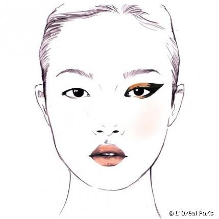 Das Cleopatra Sunset Make-up von Karim Rahman #getthelook #cannes2013