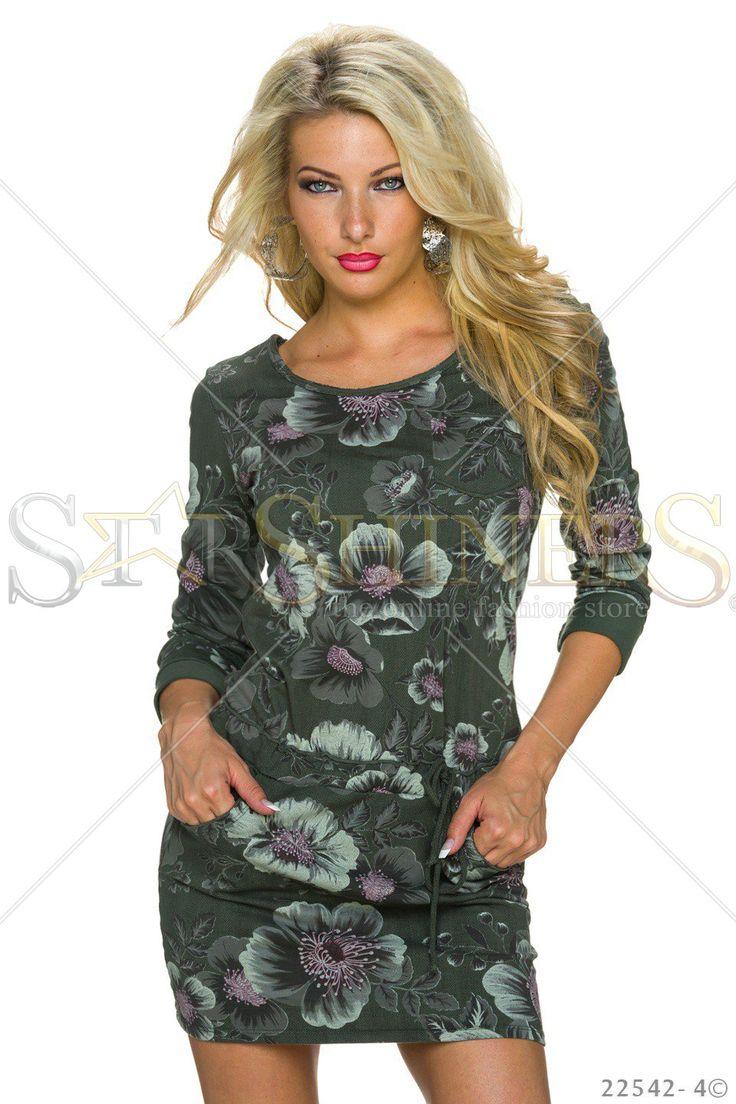 Nocturnal Crush DarkGreen Dress