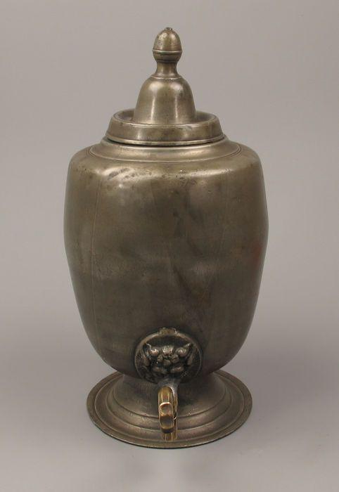 Online veilinghuis Catawiki: Antiek tinnen Kraantjes Kan - Frankrijk - 18de eeuw.