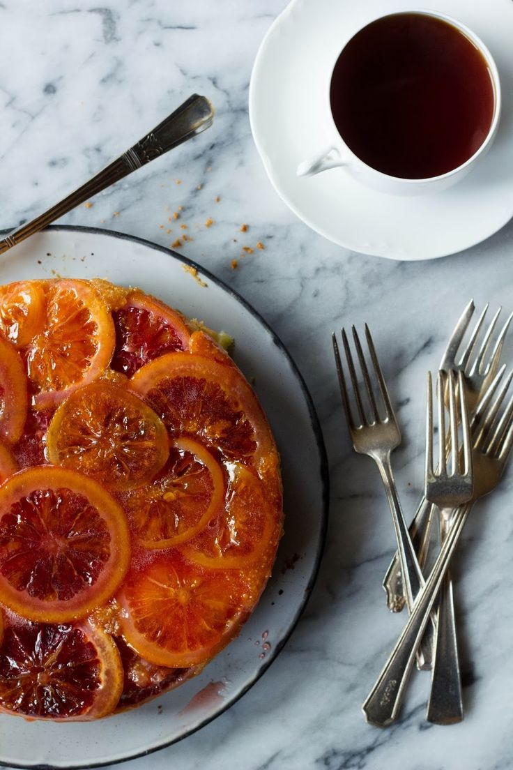 Pink Patisserie: Citrus Polenta Cake Cake for boss #cupcake #food