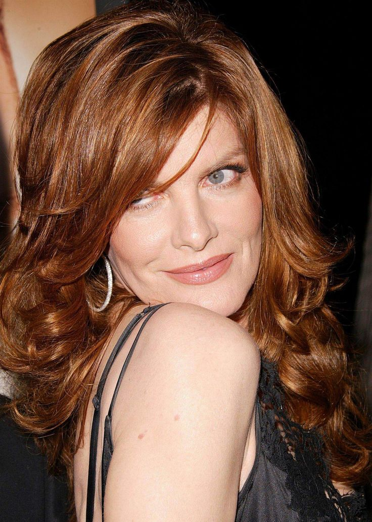 Rene Russo - Color and cut