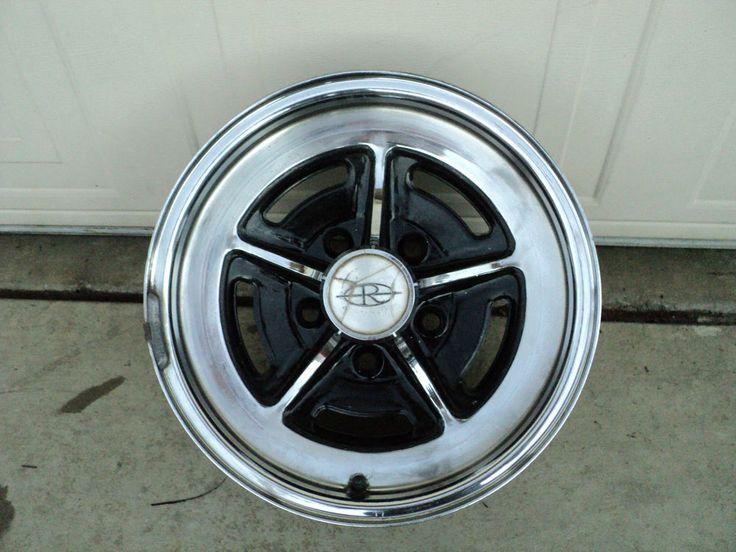 Porsche 911 Rims >> 1971-1985 Buick Rally Wheel Rim (1) 15x6 5x5 Riviera Wildcat LeSabre Electra #Buick   Wheel rims ...