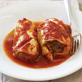 Stuffed Cabbage Rolls - from cooks country