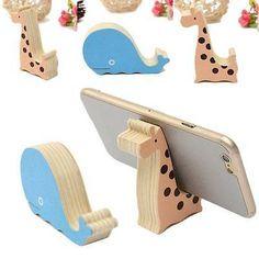Universal del Teléfono Celular Animal de madera Mini Escritorio Soporte Soporte Para iPhone Samsung HTC   Celulares y accesorios, Accesorios para teléfonos celulares, Montajes y soportes   eBay!