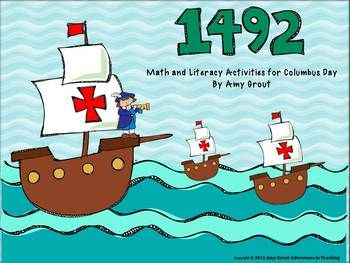 FREE! 1492: Columbus Day Math and Literacy Activities