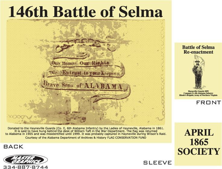 The Battle of Selma, Official Re-Enactment Website