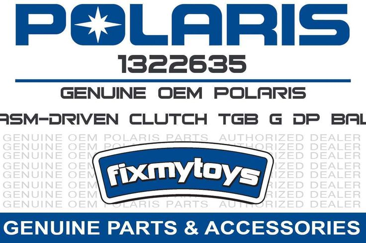 1322635 OEM Polaris ASM-DRIVEN CLUTCH TGB G DP BAL