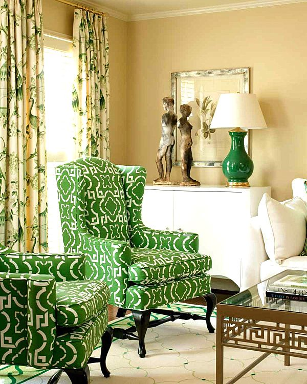 172 best COLOR: Green Home Decor images on Pinterest   Dinner room ...