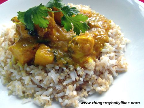 Mango Chicken Curry | Grain Free and More | Pinterest