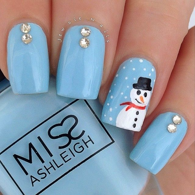 christmas by jewsie_nails #nail #nails #nailart