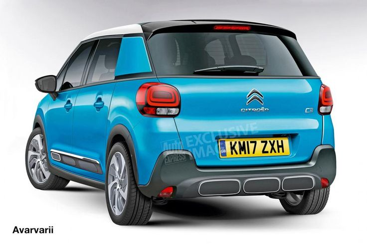 Citroen C3 SUV - rear (watermarked)