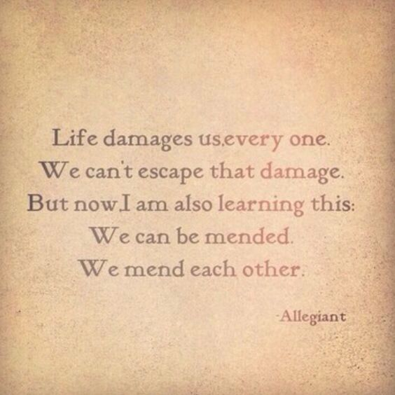 Allegiant quote. This quote makes me cry every time. Made it my phone bsckground