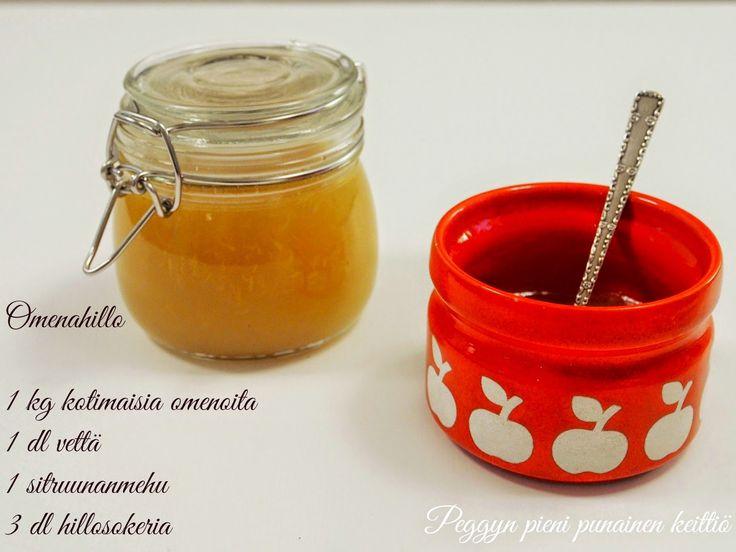 Peggyn pieni punainen keittiö: Omenahillo ja pannukakku, syksyn makuja