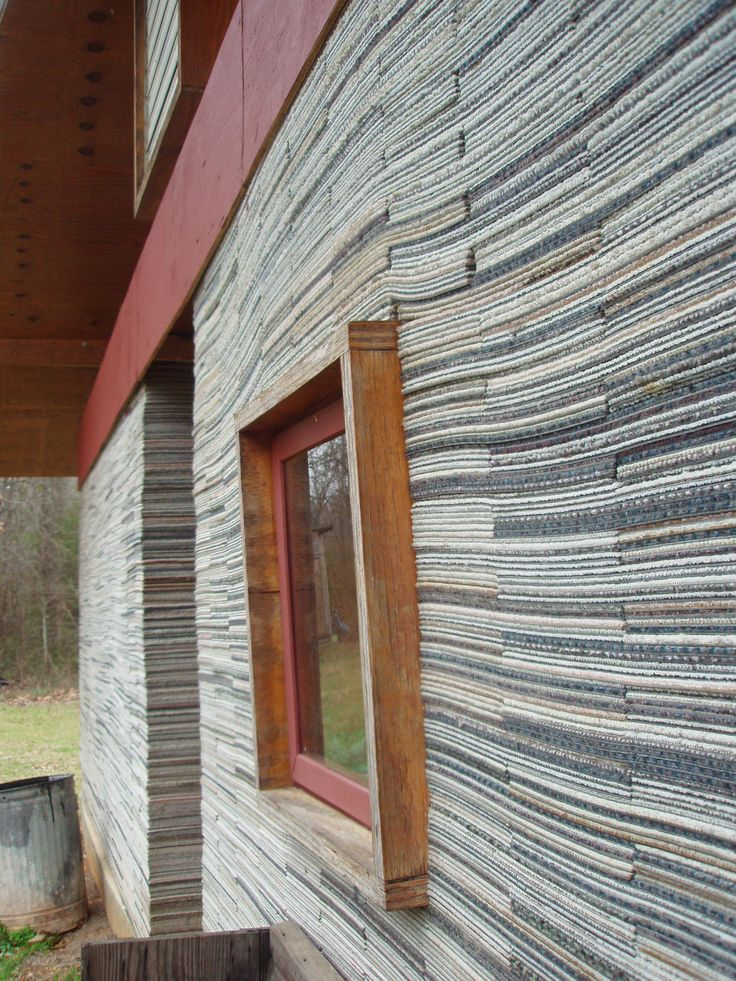 Lucy House - made from carpet tiles - Mason's Bend - Rural Studio