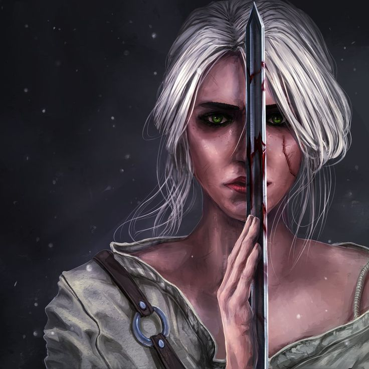 character (c) The Witcher 3: Wild Hunt art (c) me