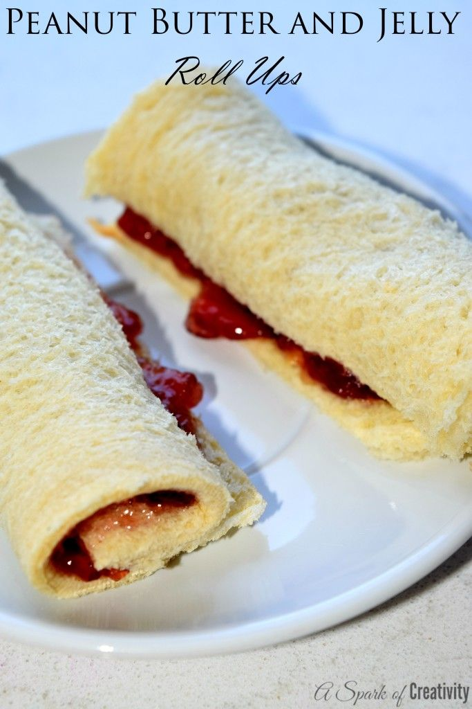 Back to School with Smucker's Peanut Butter and Jelly Roll Ups - A Spark of Creativity