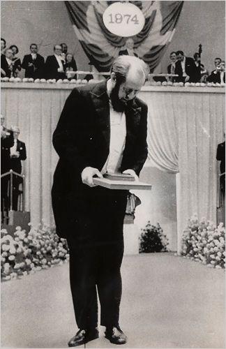 Alexandre Soljenitsyne - Stockholm, littérature Nobel prize 1970