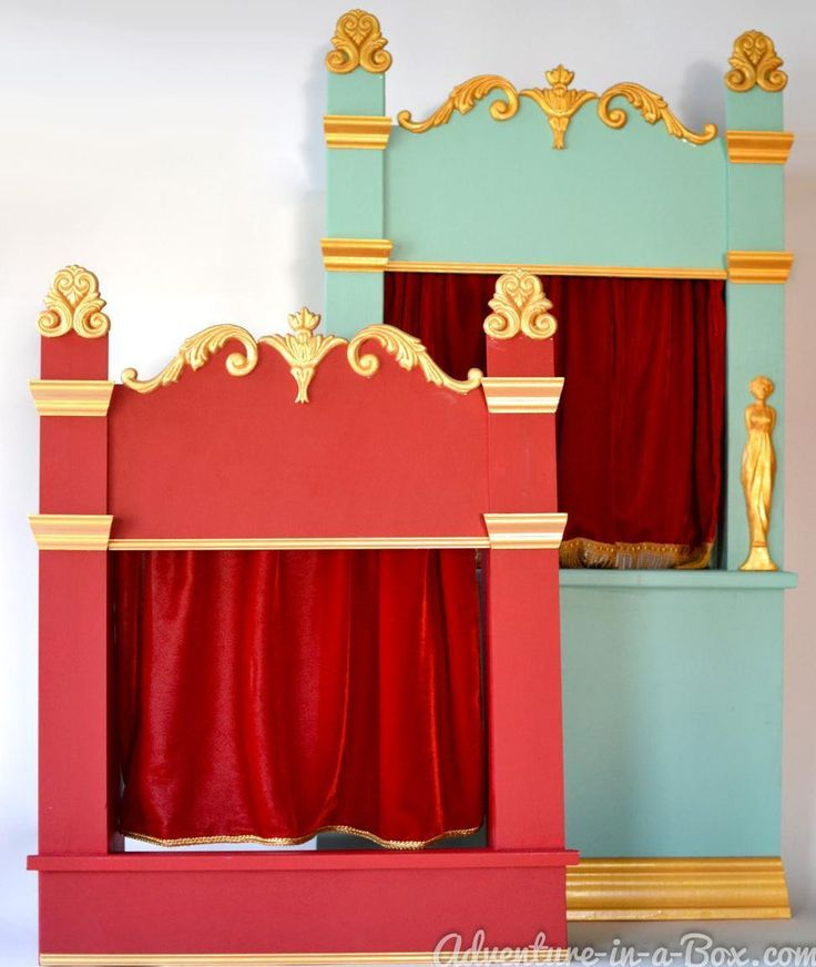 Puppet Theatre / Shadow Theatre of Vintage Inspiration: Tabletop Version