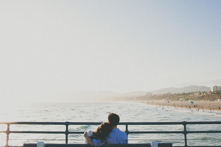 Santa Monica Proposal Photography