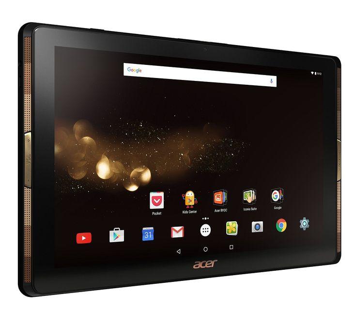 """Acer A3-A40 Tablette Tactile 10"""" Full HD Noir/Or (MediaTek Quad-Core, Mémoire 32…"""