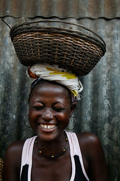 Woman of Sierra Leone. From Lee Karen Stow  Messages for UN Women - in pictures   the issues that matter most to them  - the 100th anniversary of International Women's Day..