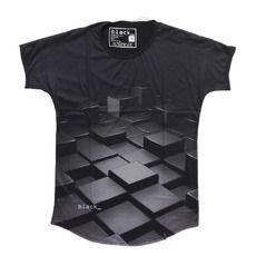 T-SHIRT SYLD 3D Κοντομάνικο T-shirt από τη νέα συλλογή της εταιρείας Support Your Local DJ's. Πρωτοποριακό σχέδιο που δίνει την αίσθηση του 3 dimension καιχαρίζει κομψότητα, στυλ σε όποιον το φοράει. Η λαιμόκοψη του είναι στρογγυλή και η υφή του απαλή. Άνετο και δροσερό t-shirt ιδανικό για την άνοιξη-καλοκαίρι.  Φορέστε το με ανοιχτόχρωμο τζιν ή μαύρο chinos για total black εμφανίσεις!