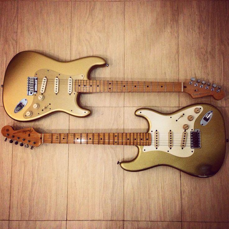 Double happiness... Fender aztec gold wildwood