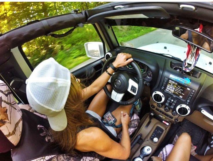 Jeep road trip.