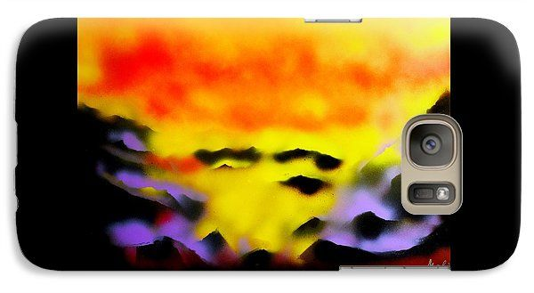 Land Of Heavens Galaxy S7 Case Printed with Fine Art spray painting image Land Of Heavens by Nandor Molnar (When you visit the Shop, change the orientation, background color and image size as you wish)