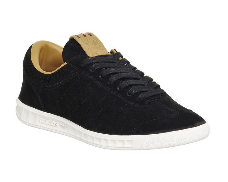 Adidas Hamburg Freizeit Black - His trainers