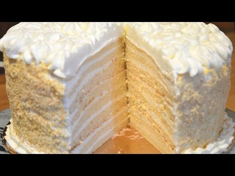 Торт Молочная девочка Мой вариант - YouTube