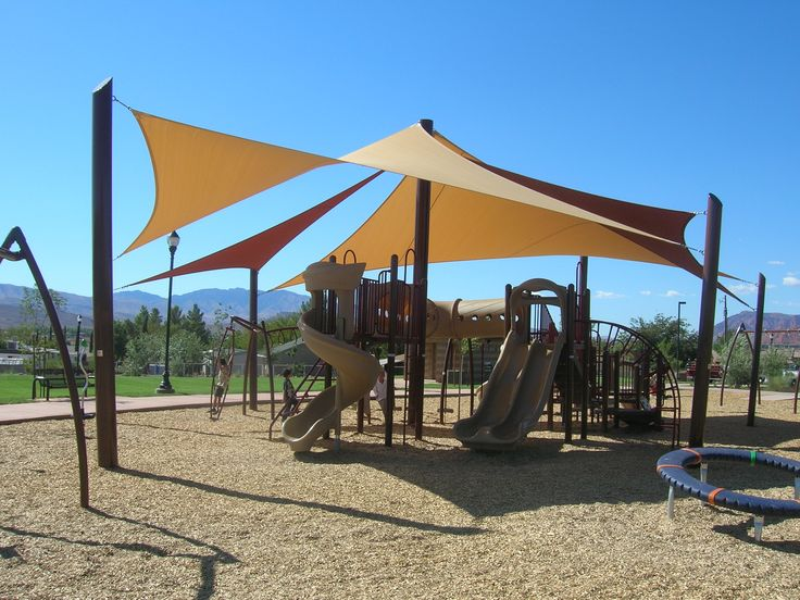 shade sails firehouse park st george ut wicked shade inc shade sails pinterest. Black Bedroom Furniture Sets. Home Design Ideas