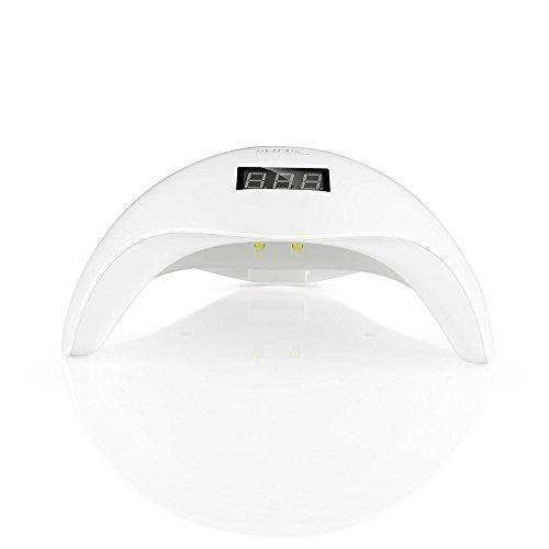 Oferta: 32.99€ Dto: -45%. Comprar Ofertas de KYG 2-in-1 Secador de Uñas Lámpara 24LED UV para Uñas en Manicuras de Shellac y Gel con Sensor de Infrarrojos con 4 Temporiza barato. ¡Mira las ofertas!