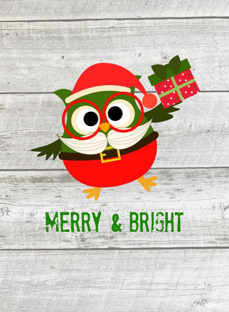 Free Christmas Owls Printables