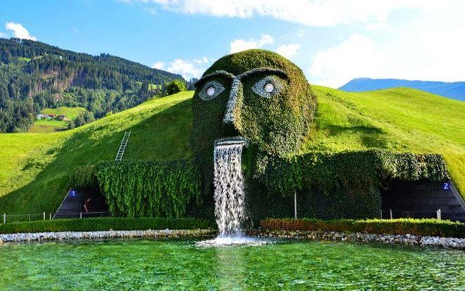 Swarovski Fountain in Austria