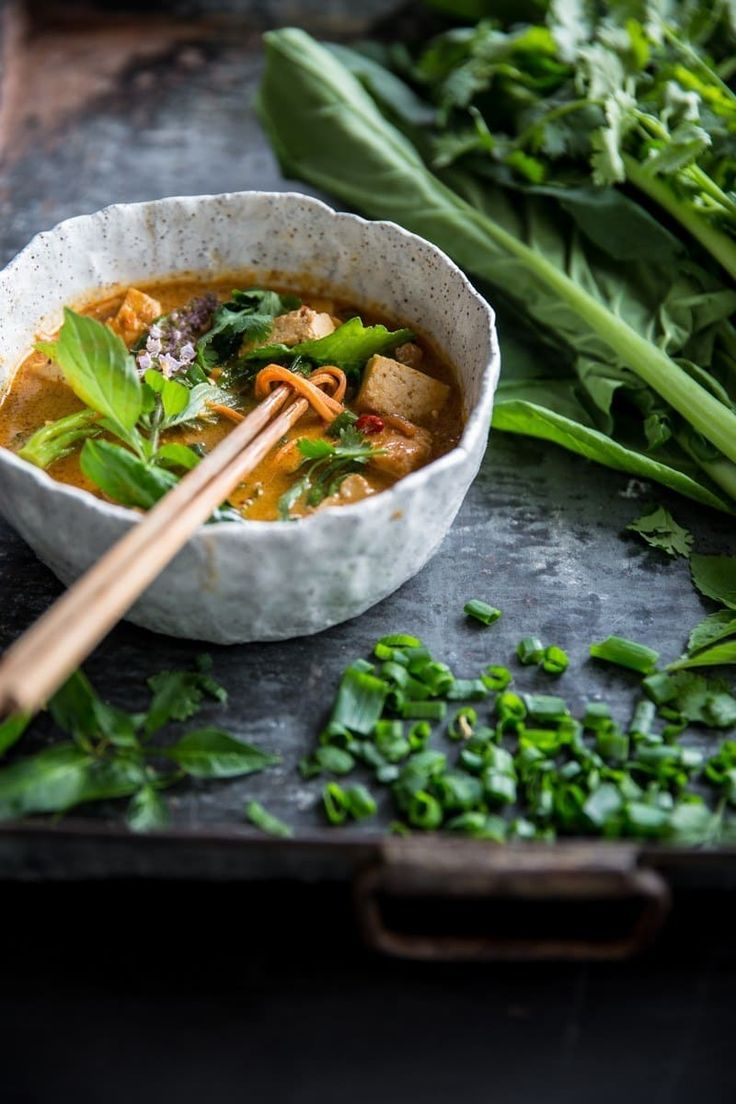 Or cut through the heat of this Thai Red Curry Soup.